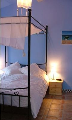 Bedroom of             holiday gite in Couiza, Aude