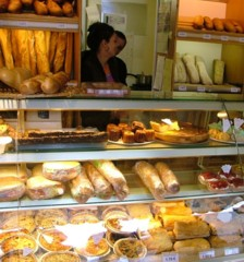 Patisserie in Couiza, Languedoc, France